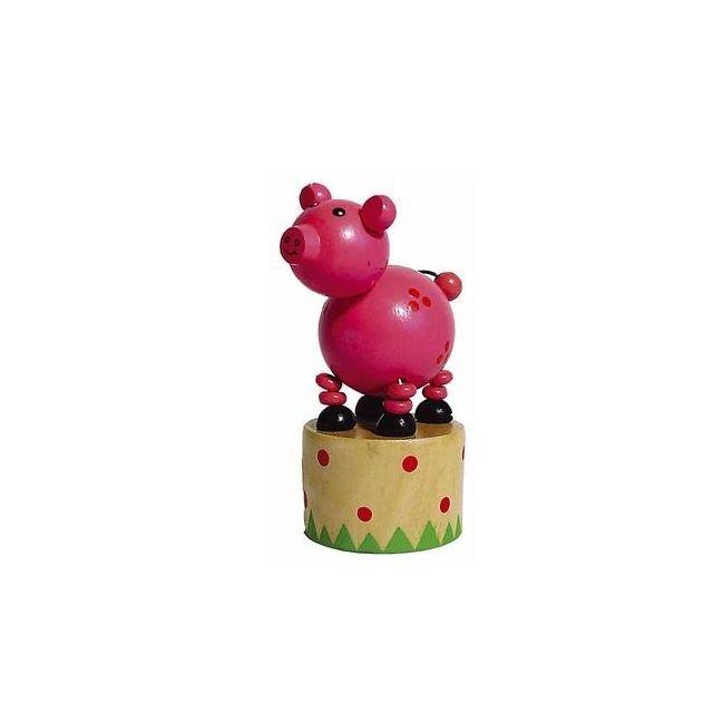En Ans 3 Articulé Wakouwa Animal Marionnette Bois Jouet Enfant NkwPO08nX