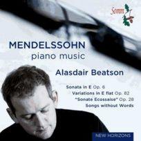 Somm - Felix Mendelssohn - Sonate opus 6, Variations opus 82, Romances sans paroles, Fantaisie opus 28