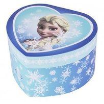La Reine Des Neiges - Boite à Bijoux Grand Coeur Musical Elsa