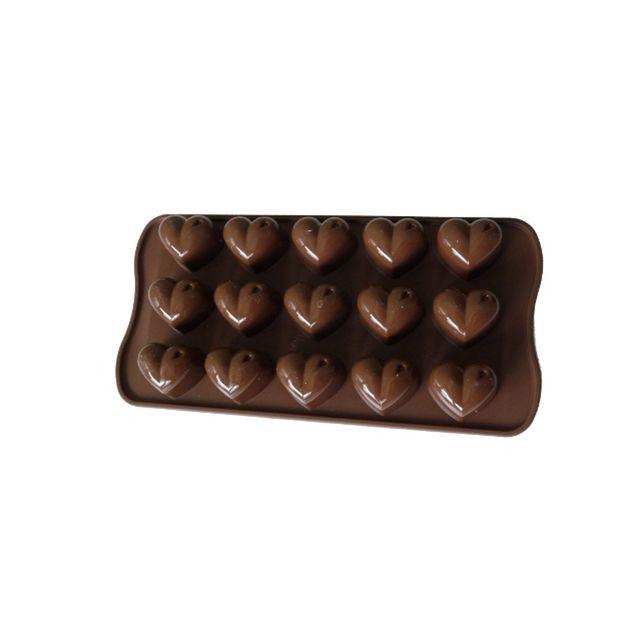 Guery Moule silicone à chocolat coeur