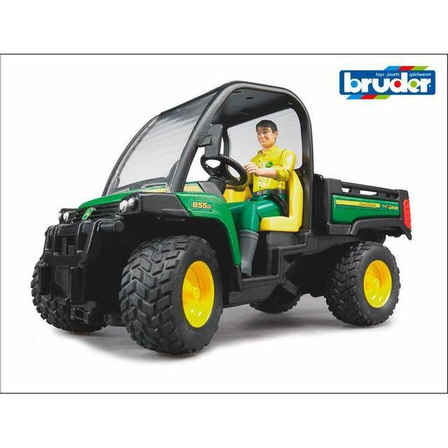 Bruder 02490 John Deere Gator Xuv 855D avec conducteur