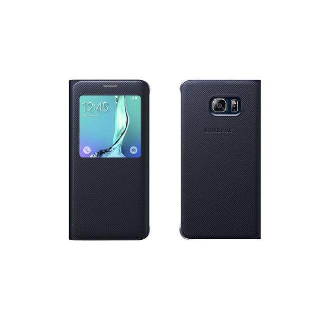 Samsung S View Cover Galaxy S6 Edge Plus - Noir