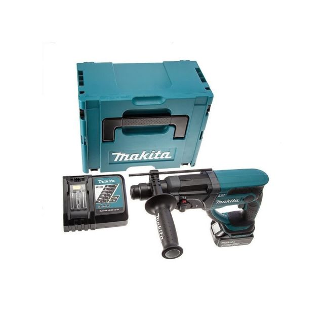 makita perforateur burineur sds dhr202rm1j avec 1. Black Bedroom Furniture Sets. Home Design Ideas