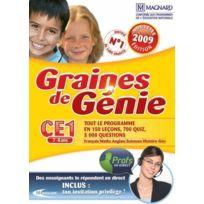 Mindscape - Graine De Génie Ce1 2008-2009 - Pc - Neuf