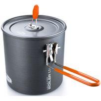 Gsi - Halulite - Vaisselle - 1,1l gris/orange