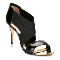 Ted Baker - Womens Black Leniya Leather Court Shoes-UK 4