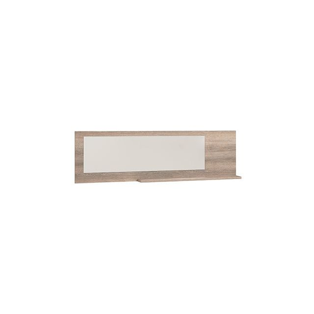 Miroir + tablette 189x55x16cm naturel - Honorine