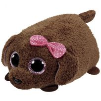 TY - Teeny Tys-Peluche Maggie le chien 8 cm