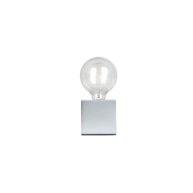 Rendez Vous Deco - Lampe à poser Zelda chrome ampoule incluse
