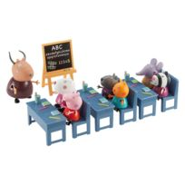 Giochi - Peppa Pig - Peppa Pig Salle de Classe 7 Personnages