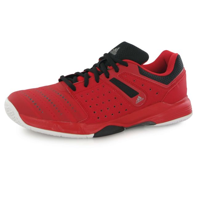 half off f5bc5 3cc30 Adidas performance - Court Stabil 12 rouge, chaussures indoor homme - pas  cher Achat   Vente Chaussures hand - RueDuCommerce