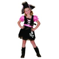 Déguisement Pirate Girly Fille Taille 10 12 Ans L 221924