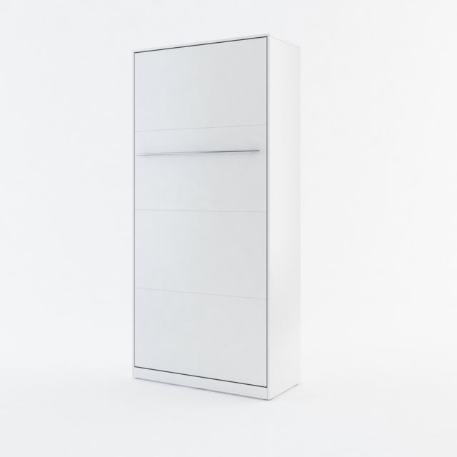 Openbed Lit escamotable Vertical COSY, Blanc 90x200cm