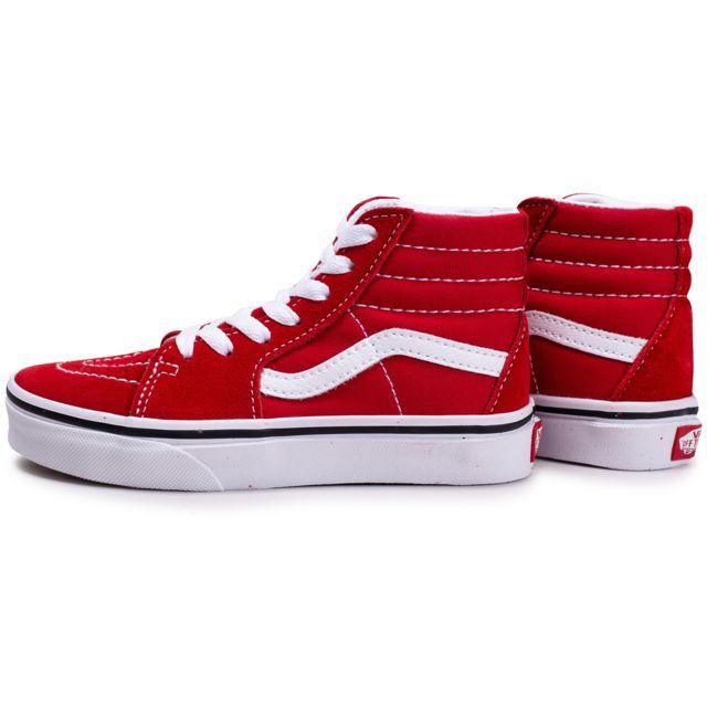vans sk8 rouge femme