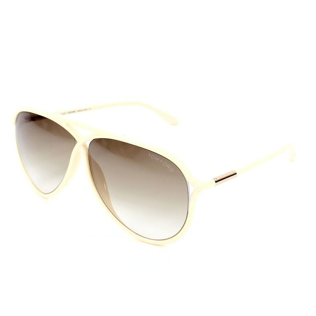 d1370778aab6d Tom Ford - Tom Ford - Maximillon Tf206 25F Or - ivoire - Lunettes de soleil