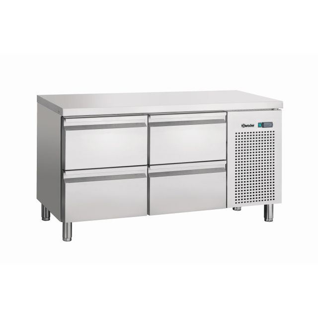 Bartscher Table refrigeree, froid ventile, 4SL