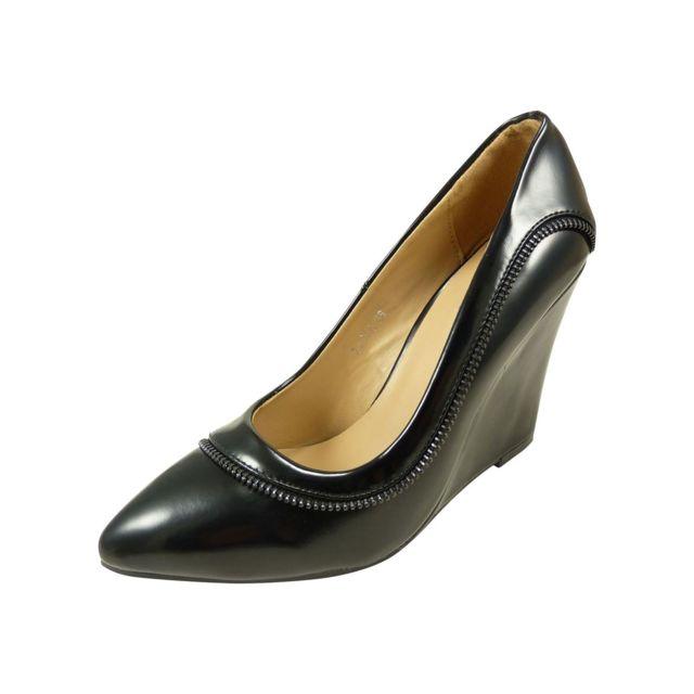 revendeur 863e9 f4eae Chaussmaro - Escarpin, chaussure femme à talon haut compensé ...