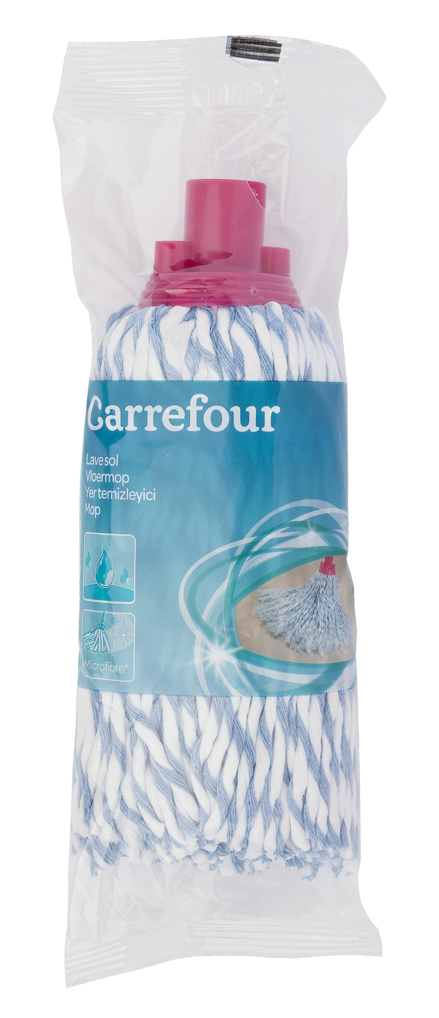 carrefour lave sol frange microfibre coton 267203 pas cher achat vente balais. Black Bedroom Furniture Sets. Home Design Ideas