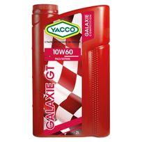 Yacco - Huile Moteur Galaxie Gt 10W60 - Bidon de 2 L