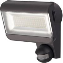 Brennenstuhl - Projecteur Led Premium City Sh 8005 Pir Ip44 anthracite, avec détecteur de mouvements infrarouge