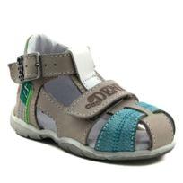 Chaussures à bout ouvert GBB grises garçon T1dvVVhGa3