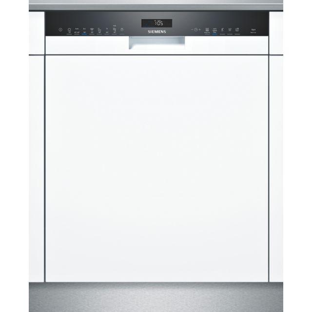 SIEMENS lave-vaisselle 60cm 14c 42db a++ intégrable avec bandeau blanc - sn558w09me