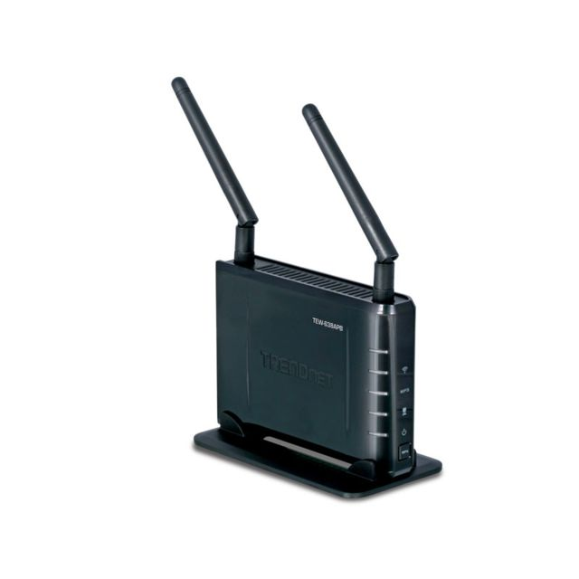 TRENDNET TEW-638APB Point d'accès/Pont - WiFi N 2.0 300Mbps - 2 antennes amovibles - sécurité sans fil, WEP, WPA & WPA2 - Compatible Windows 2000/XP/Vista/Mac et Unix - Garantie 3 ans