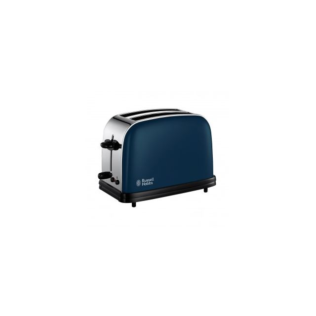 Russell Hobbs Grille pain 2 fentes - 1100W Colours Bleu Royal 18958-56