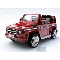 Mercedes - Voiture électrique enfant 4x4 G55 métal télécommande 12V Rouge