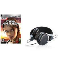 Mindscape - Pack jeu pour Pc Lara Croft Tomb raider Legend avec casque arceau