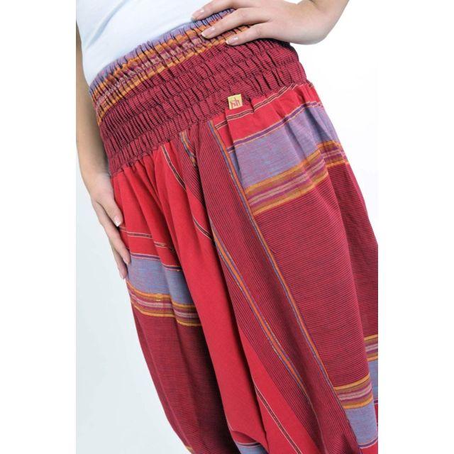 c40014014dc Fantazia - Pantalon sarouel alladin indien red bril - pas cher Achat ...