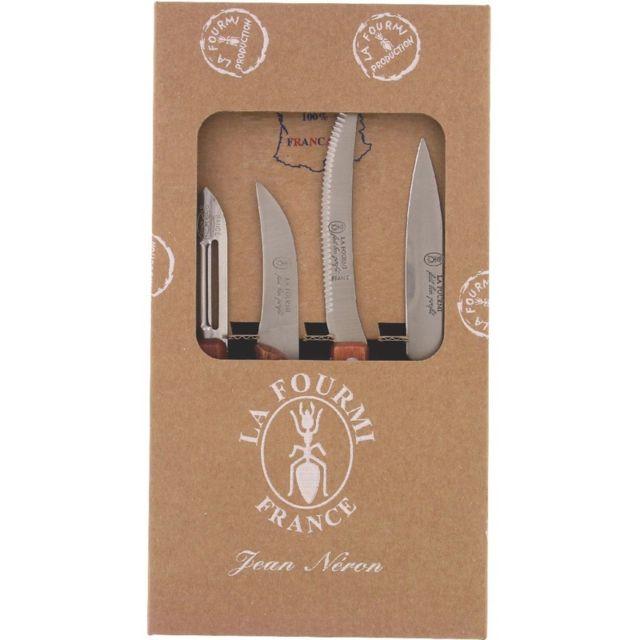 Autre Kit 3 couteaux de cuisine + 1 éplucheur