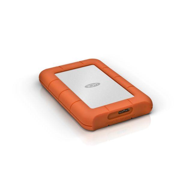 "LACIE Rugged Mini 2,5"" 1 To USB3.0 Disque dur externe USB3.0 Rugged Mini 2,5"" 1 To USB3.0"