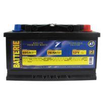 Auto 7 - Batterie 12V 76AH 650A EN, : Auto7