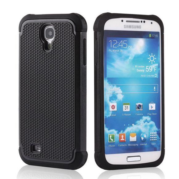Lapinette - Coque Anti Choc Pour Samsung Galaxy S4 Mini - Noir