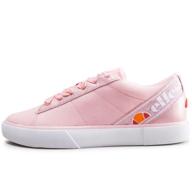 basket ellesse femme rose