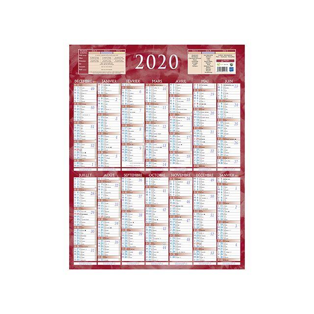 Achat Calendrier 2020.Bouchut Grandremy Calendrier Annuel Mural 2019 14 Mois