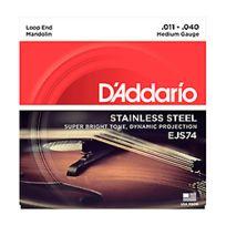D'Addario - Ejs74 Stainless Steel 11-40