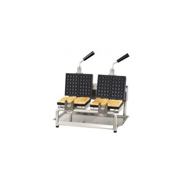 CASSELIN Gaufrier professionnel double rotatif - Ouverture 180