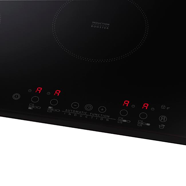 Plaque de cuisson induction 77 cm 4 foyers ACM812NE