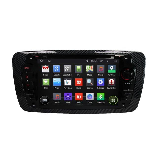 Auto-hightech Autoradio gps bluetooth Seat Ibiza 2009-2013 Android 5.1 radio WiFi