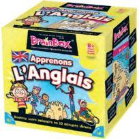The Green Board Game Co - Jeux de société - Brain Box Apprenons L'anglais