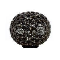 Kartell - Planet - Lampe à poser Led Anthracite translucide H27cm