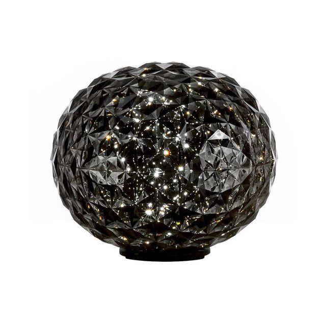 Anthracite Poser H27cm Translucide Planet Lampe À Led nkX0wPN8O