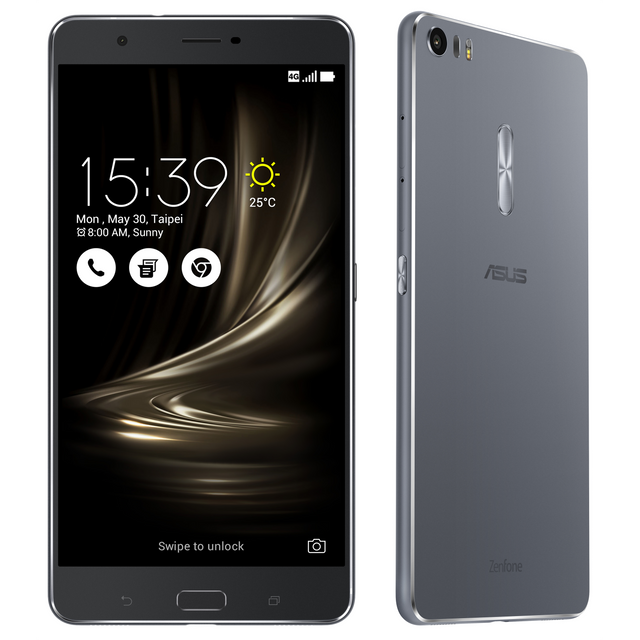 ASUS - Zenfone 3 Ultra - ZU680KL - Gris