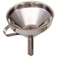 Kitchen Craft - Entonnoir avec filtre amovible Acier inoxydable 13 cm Import Grande Bretagne