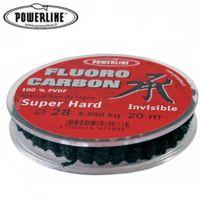 Powerline - Nylon De Peche Fluorocarbon Super Hard 20M