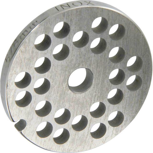 Reber Grille inox Pour hachoir électrique ou manuel n°5 Trou 6mm