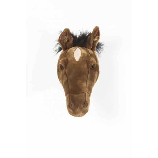 Bibib & Co - Tête de cheval marron