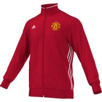 Adidas - Veste de survêtement Manchester United 3 Stripes